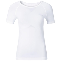 EVOLUTION LIGHT Baselayer Shirt Damen, white, large