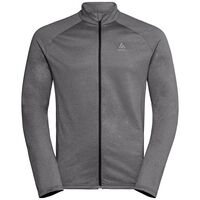 Midlayer full zip X-MAS, odlo graphite grey melange, large