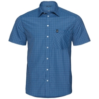 Shirt s/s VIEW, seaport - algiers blue, large