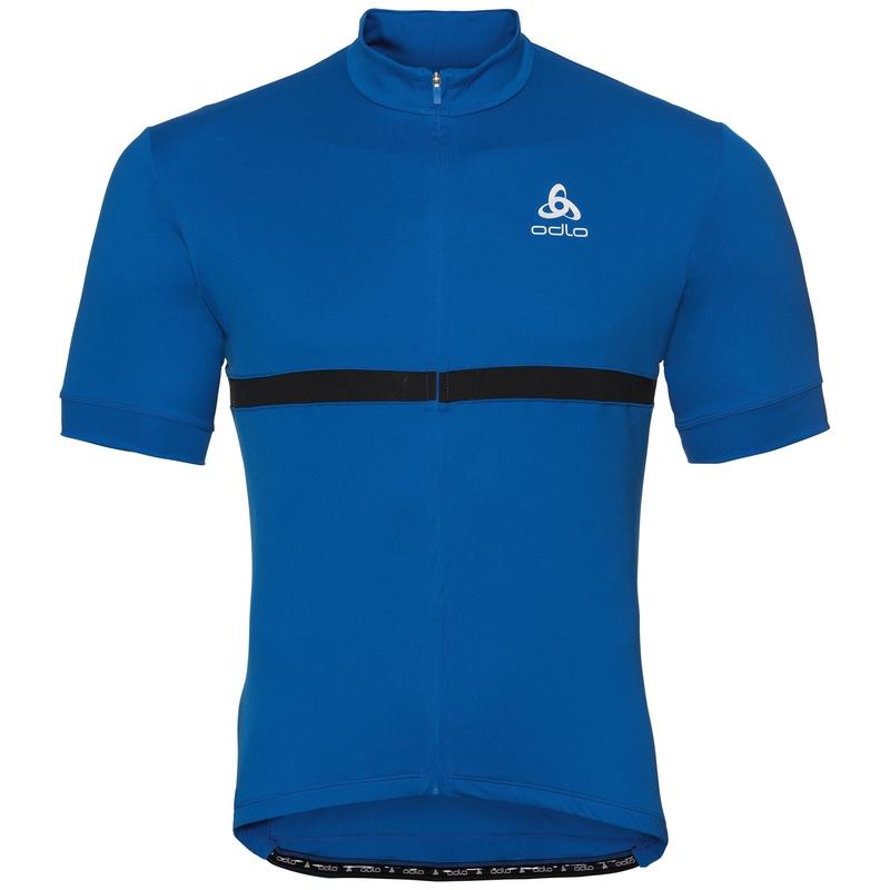 FUJIN cycling jersey men, energy blue, large