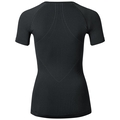 EVOLUTION WARM kurzärmeliges Baselayer Shirt, black - odlo graphite grey, large