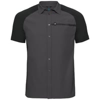 Shirt s/s SAIKAI COOL PRO, odlo graphite grey - black, large