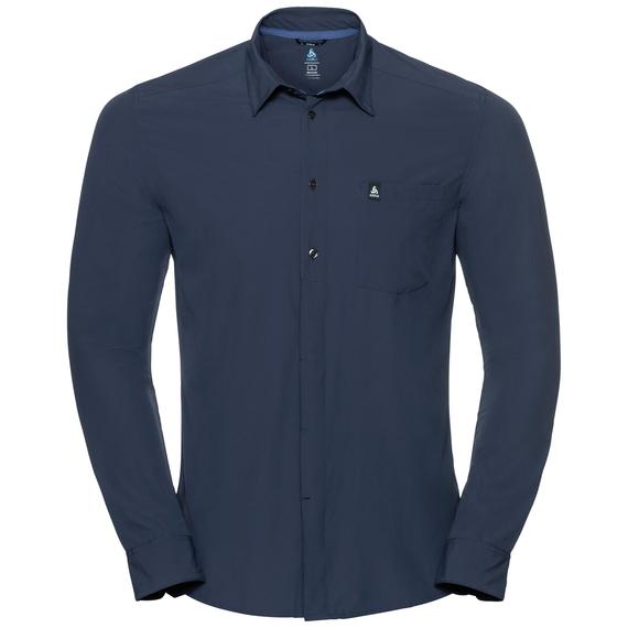 Herren SAIKAI COOL LIGHT Langarm-Shirt, diving navy, large