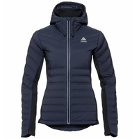 Giacca termica SARA COCOON da donna, diving navy, large