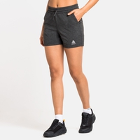 Short RUN EASY 5 INCH da donna da 12,7 cm, black melange, large