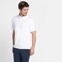Men's CARDADA Polo Shirt, white, large