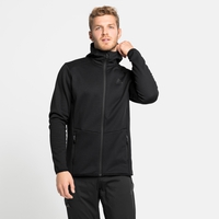 Men's HAVEN X-WARM Midlayer Hoody, black, large