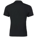 Polo NIKKO LIGHT, black - odlo steel grey - white, large