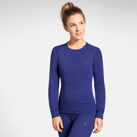 Maglia Base Layer a manica lunga ACTIVE WARM da donna, clematis blue, large