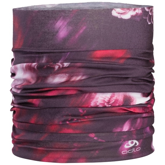 Tube PRINTED, plum perfect - flower AOP SS19, large