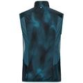 Vest OMNIUS Light, blue coral - AOP FW18, large