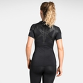 Women's ACTIVE SPINE LIGHT Baselayer T-Shirt, black, large