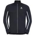 Jacket AEOLUS PRO Warm, black - odlo graphite grey, large