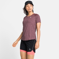 Women's RUN EASY 365 T-Shirt, siesta melange, large