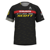 T-shirt s/s crew neck Trail - SCOTT SRAM RACING, SCOTT SRAM 2020, large