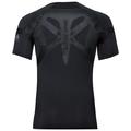 Men's ACTIVE SPINE LIGHT Base Layer Top, black, large