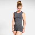 Damen PERFORMANCE LIGHT Funktionsunterwäsche Unterhemd, grey melange, large