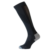 Socks extra long MUSCLEFORCE Light, odlo graphite grey - black, large