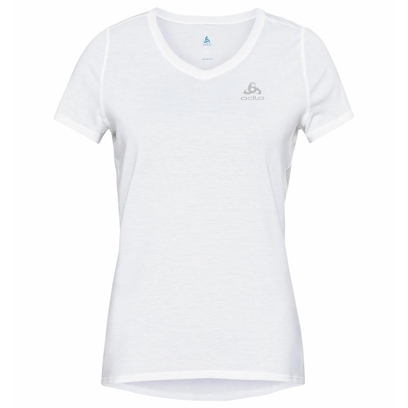 T-shirt ETHEL da donna, white, large