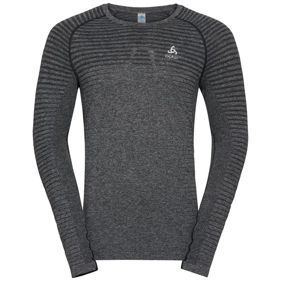 Herren SEAMLESS ELEMENT Langarm-Shirt, grey melange, large
