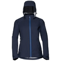 Women's WATERTON STRETCH Hardshell Jacket, diving navy, large