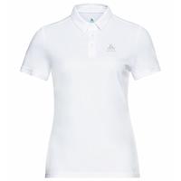 Damen CARDADA Poloshirt, white, large