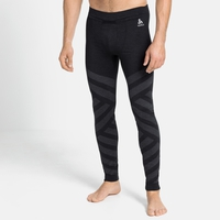 Herren NATURAL + KINSHIP WARM Baselayer-Pants, black melange, large
