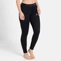 Women's ACTIVE THERMIC Baselayer Bottoms, black melange, large