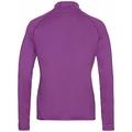 Midlayer con 1/2 zip CARVE LIGHT da donna, hyacinth violet, large