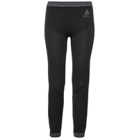 PERFORMANCE WARM KIDS Base Layer Pants, black - odlo graphite grey, large