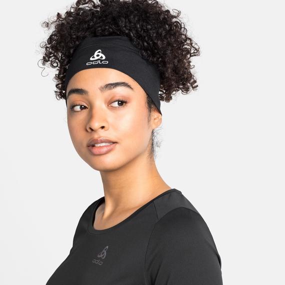 CERAMICOOL Stirnband, black, large