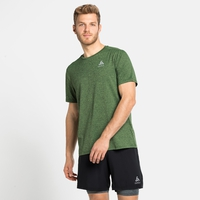 RUN EASY 365-T-shirt voor heren, lounge lizard melange, large