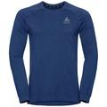 Men's MILLENNIUM YAKWARM Midlayer, estate blue melange, large