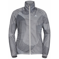 Damen ZEROWEIGHT AOP Jacke, silver cloud - AOP SS20, large