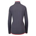 Midlayer full zip CARVE WARM - ready for print, odyssey gray, large