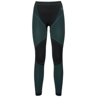 Women's PERFORMANCE WINDSHIELD XC LIGHT Base Layer Pants, black - blue radiance, large