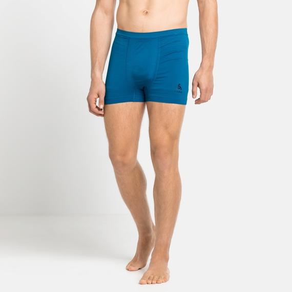 Men's PERFORMANCE LIGHT Sports-Underwear Boxers, mykonos blue - horizon blue, large
