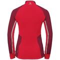 Women's AEOLUS PRO Jacket, rumba red - hibiscus, large