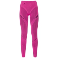 Muscle Force EVOLUTION WARM Pantaloni baselayer, pink glo - peacoat, large