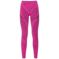 Muscle Force EVOLUTION WARM baselayer pants, pink glo - peacoat, large