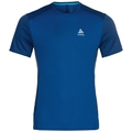 BL TOP Crew neck s/s NIKKO ACTIVE, energy blue - diving navy, large