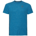 Men's MILLENNIUM LINENCOOL T-Shirt, mykonos blue melange, large