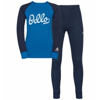 Set ACTIVE WARM ECO TREND KIDS -basislaagset, diving navy - directoire blue - graphic FW20, large