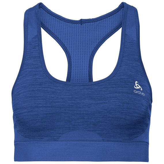 Sports Bra Seamless MEDIUM, diving navy - dazzling blue, large