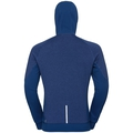 Herren MILLENNIUM YAKWARM Midlayer Hoody, estate blue, large