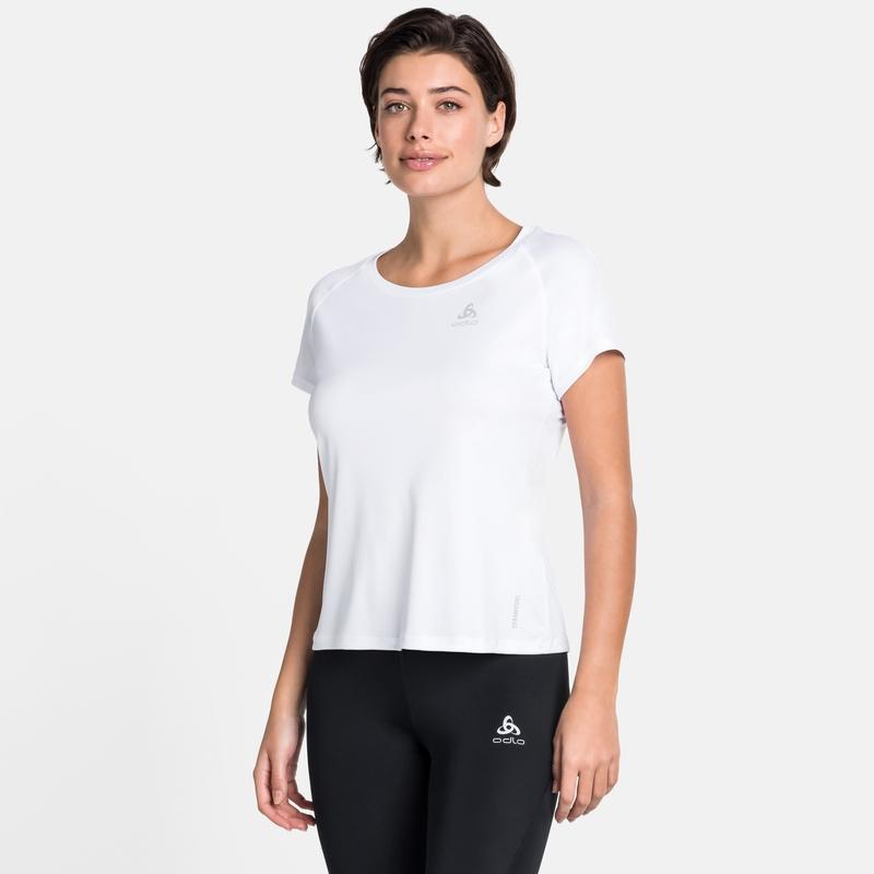 Women's CERAMICOOL ELEMENT T-Shirt, white, large