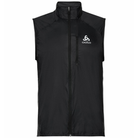 Gilet running ZEROWEIGHT pour homme, black, large