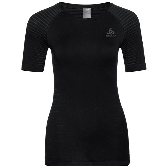 Sous-vêtement technique T-shirt manches courtes PERFORMANCE LIGHT pour femme, black, large