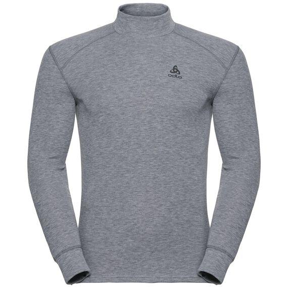 Shirt l/s turtle neck ACTIVE ORIGINALS Warm, grey melange, large