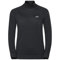 Women's HELENA 1/2 Zip Midlayer, black, large